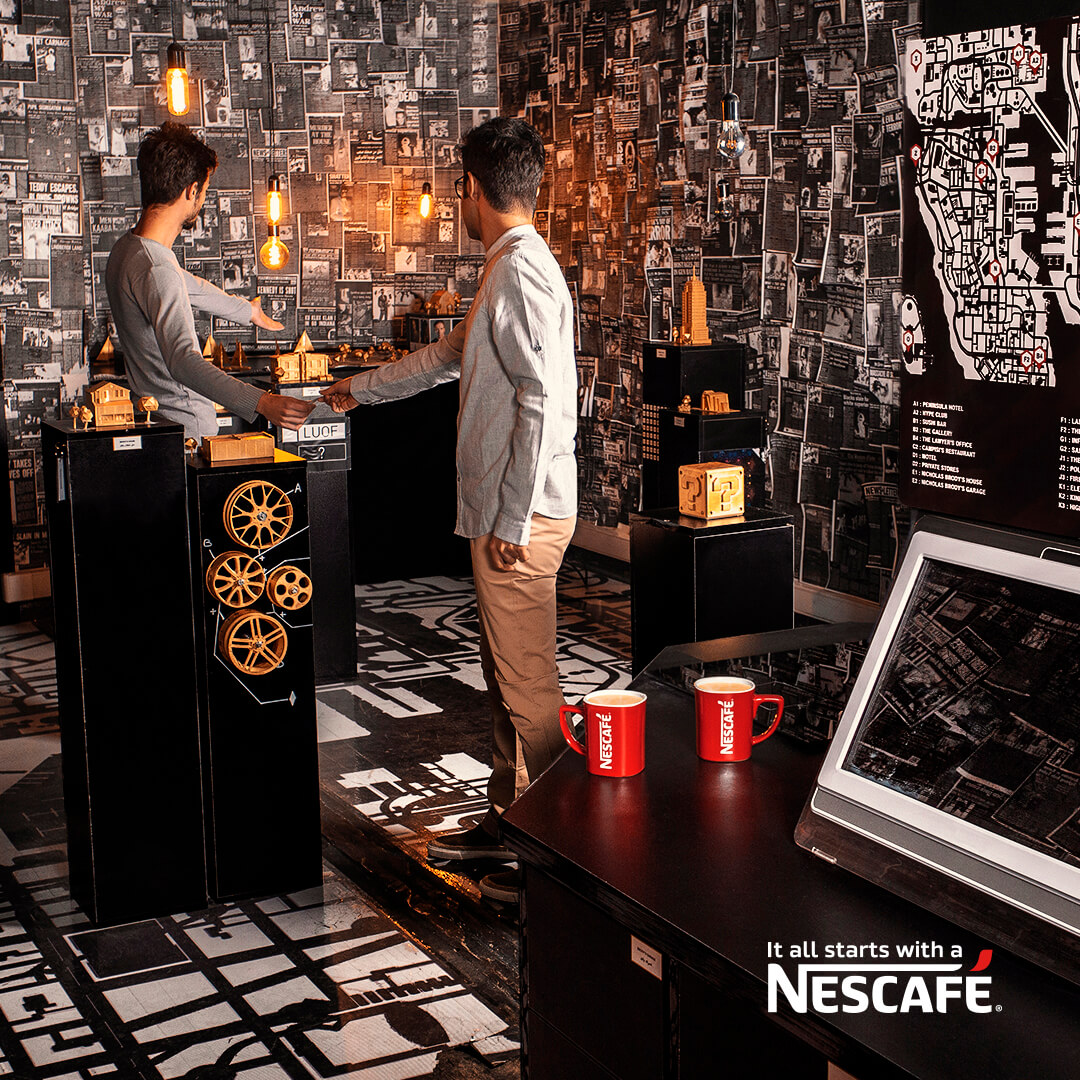 nescafe friends