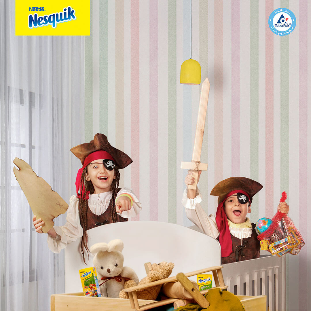 Netbina and Nesquik work towards a brighter future with stronger, smarter kids!