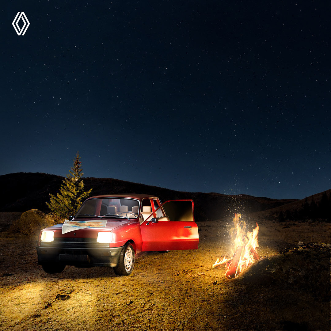 A cup of Nescafé and a road trip with Renault: How we welcomed the Iranian new year