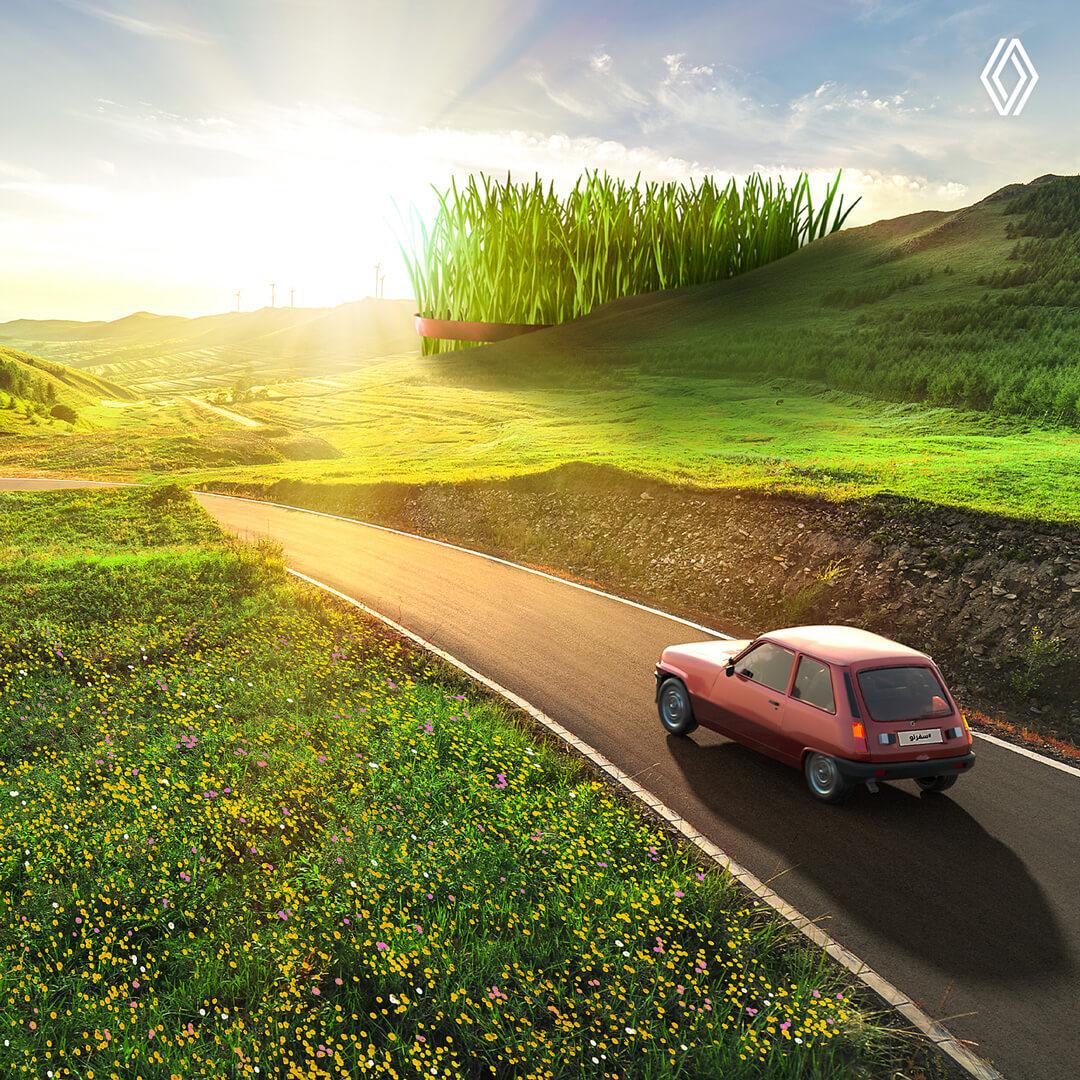 New Journey: Renault's virtual trip around Iran