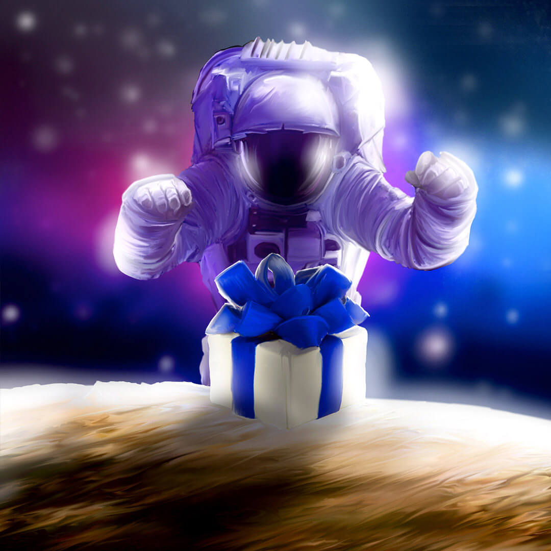 Ride with an astronaut