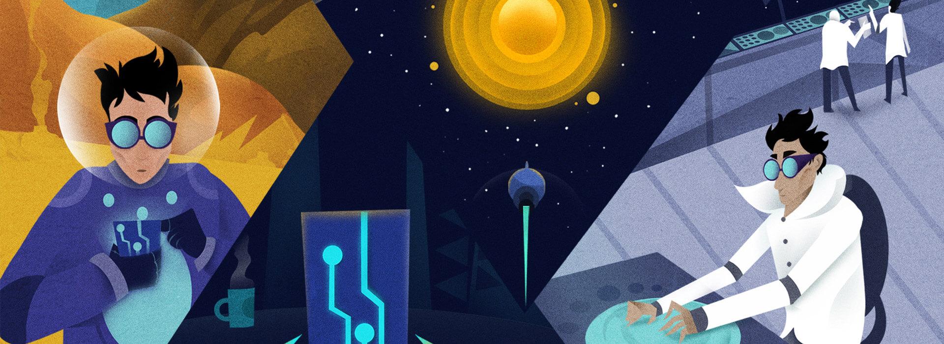 Netbina takes Samsung Members on a trip to the future!